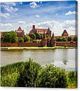 Malbork Castle Canvas Print