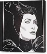 Maleficent2 Canvas Print