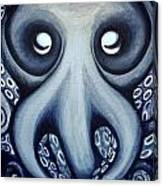 Malekei The Octopi Canvas Print