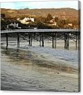 Malibu Beach California Canvas Print