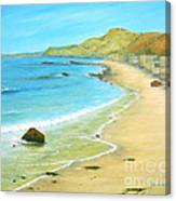 Malibu Road Canvas Print