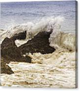 Malibu Waves Canvas Print