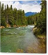 And A River Runs Through It Canvas Print