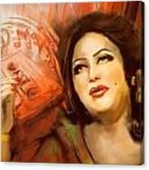 Malika Tarranum Canvas Print