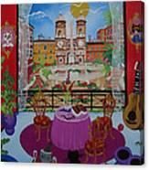 Mallorca, Spain, 2012 Acrylic On Canvas Canvas Print