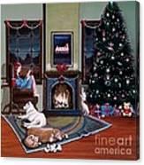Mallory Christmas Canvas Print