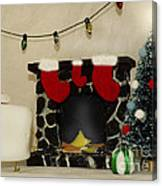 Mallow Christmas Canvas Print