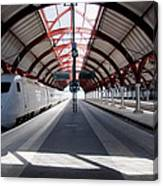 Malmo Central Station Canvas Print
