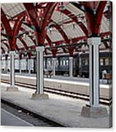Malmo Train Station Canvas Print