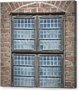Malmohus Window Canvas Print