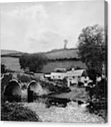 Malmsmead Bridge, C1900 Canvas Print
