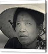 Mama San Pleiku Central Highlands Vietnam 1968 Canvas Print