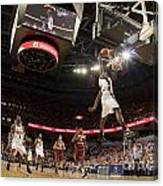 Mamadi Diane Dunk Against Boston College Canvas Print