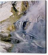 Mammoth Hot Springs Terrace Canvas Print