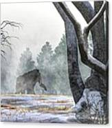 Mammoth In The Distance Canvas Print