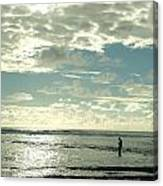 Man And The Sea Canvas Print