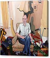 Man At 50... Canvas Print