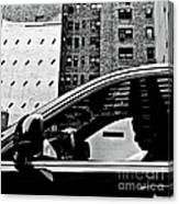 Man In Car - Scenes From A Big City Canvas Print