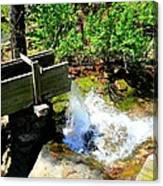 Man Made Waterfall V2 Canvas Print