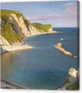 Man O' War Cove - Dorset Canvas Print