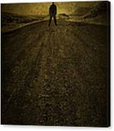 Man On A Mission Canvas Print