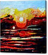 Manas Sarovr Lake-11 Canvas Print