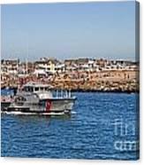 Manasquan Inlet Coast Guard Canvas Print