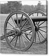 Manassas Battlefield Cannon Canvas Print