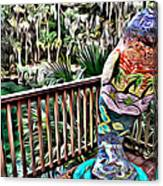 Manatee Color Canvas Print