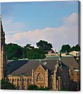 Manayunk - Saint John The Baptist Church Canvas Print