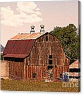 Mancos Colorado Barn Canvas Print