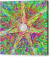 Mandala 1 22 2015 Canvas Print