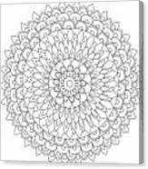 Mandala 4 Canvas Print