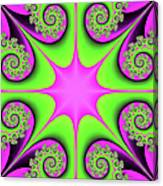 Mandala Cheerful Canvas Print