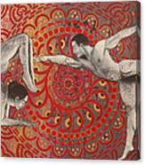 Mandala Dance Canvas Print
