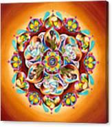 Mandala For Moms Canvas Print