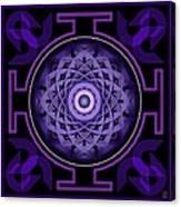 Mandala Hypurplectic Canvas Print