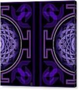 Mandala Hypurplectic - Stereogram Canvas Print