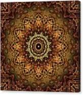 Mandala Of Bones Canvas Print