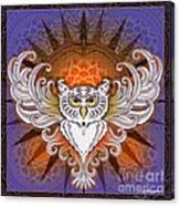 Mandala Owl Canvas Print