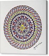 Mandala V Canvas Print