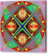 Mandala0504 Canvas Print