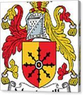 Mandeville Coat Of Arms Irish Canvas Print