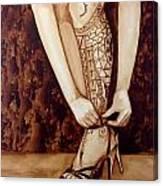 Mandirigma In Stilettos Canvas Print
