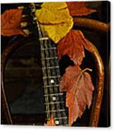 Mandolin Autumn 1 Canvas Print
