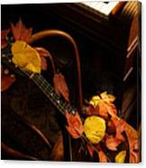 Mandolin Autumn 5 Canvas Print