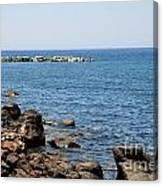 Mandraki Coastline Nisyros Canvas Print