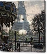 Manege Parisienne Canvas Print