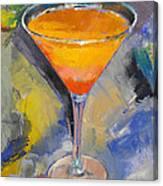 Mango Martini Canvas Print