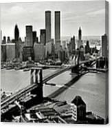 Manhattan 1978 Canvas Print